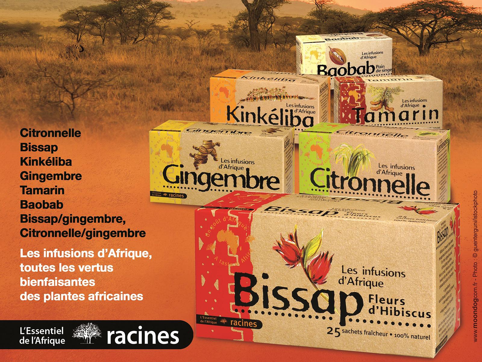 Racines - Produits ethniques - Afrique & Océanie