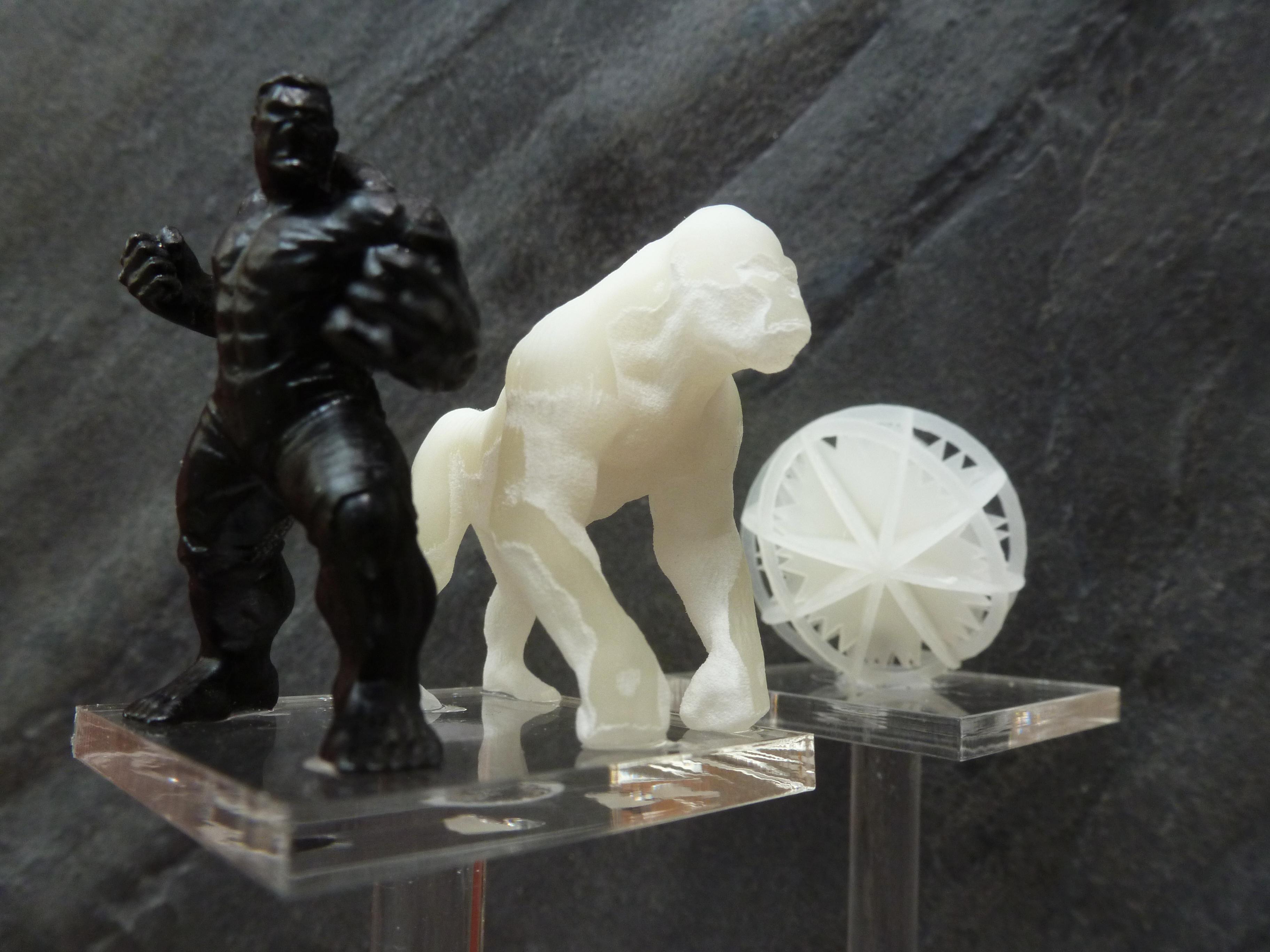 Carrafont - Imprimante 3D multijet - Réalisations