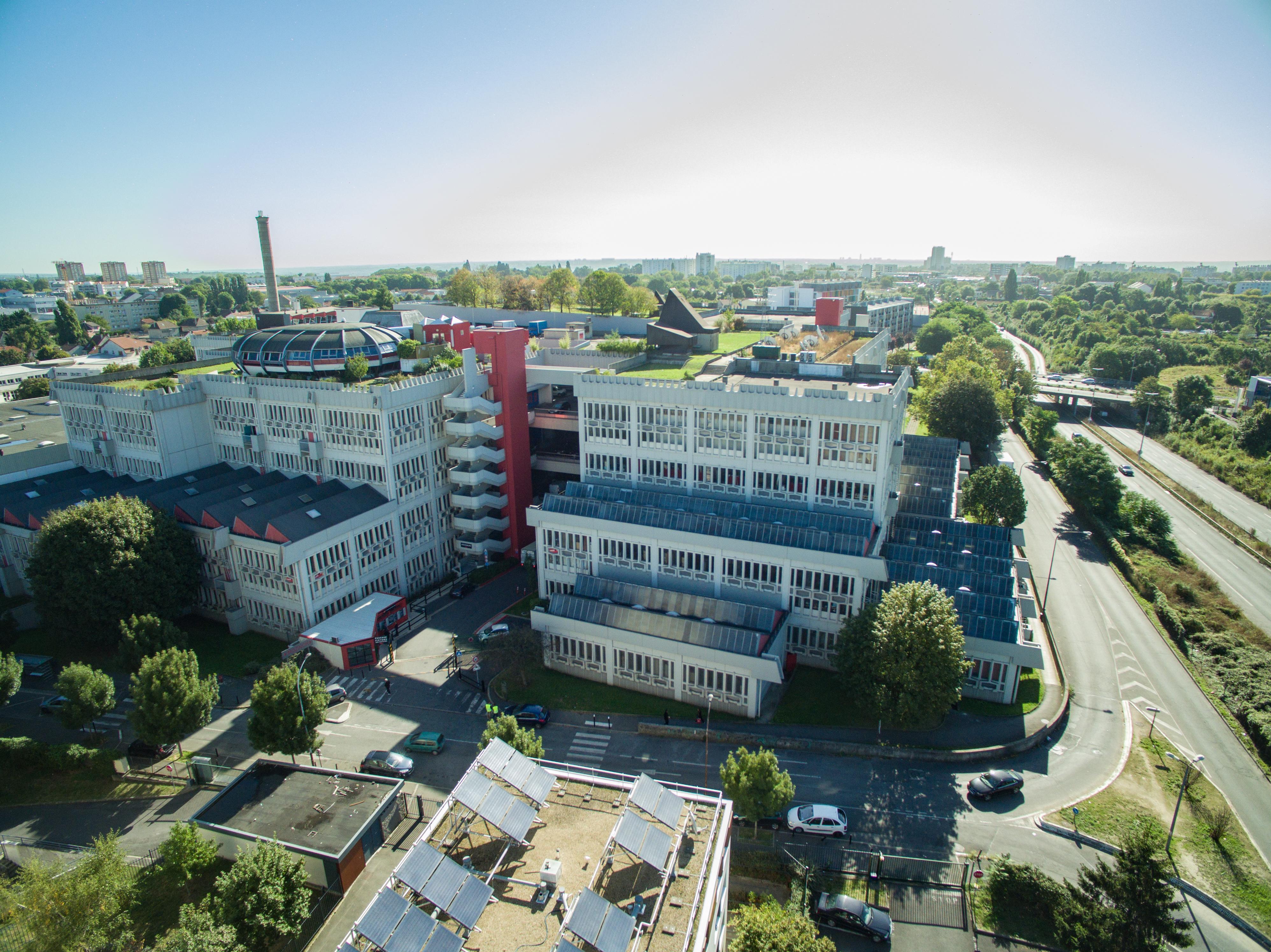 Mozinor - Cité industrielle - Vue du ciel