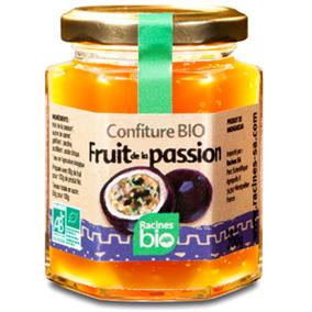 Racines - Confiture bio fruit de la passion