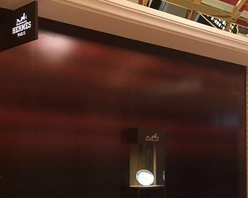 Prestimage - Panneaux - Détail - Flagship Hermes - Macao